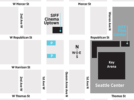 SIFF Cinema Map