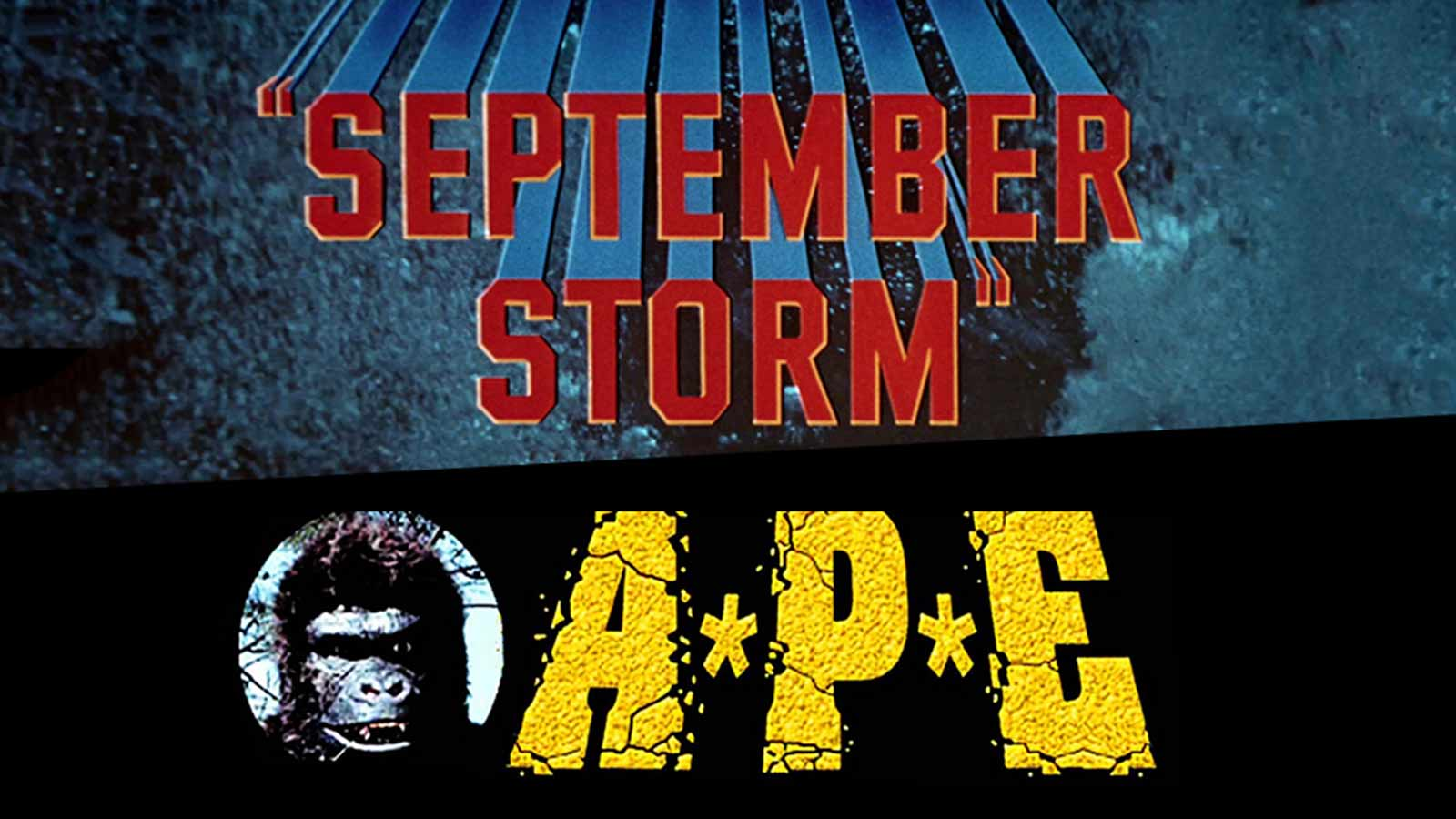 Force of Nature 3D Double Feature featuring September Storm and Ape