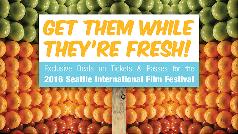 SIFF 2016 Passes and Tickets Now on Sale