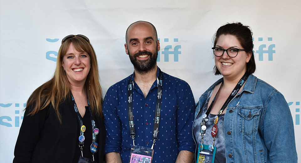 Marilyn Director with SIFF Staff