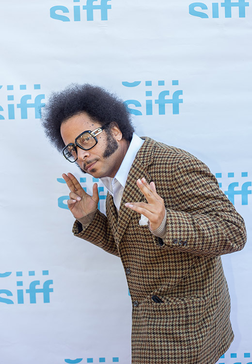 Boots Riley red carpet 2