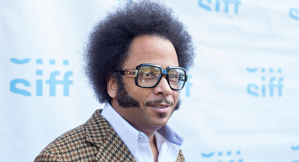 Boots Riley Red carpet