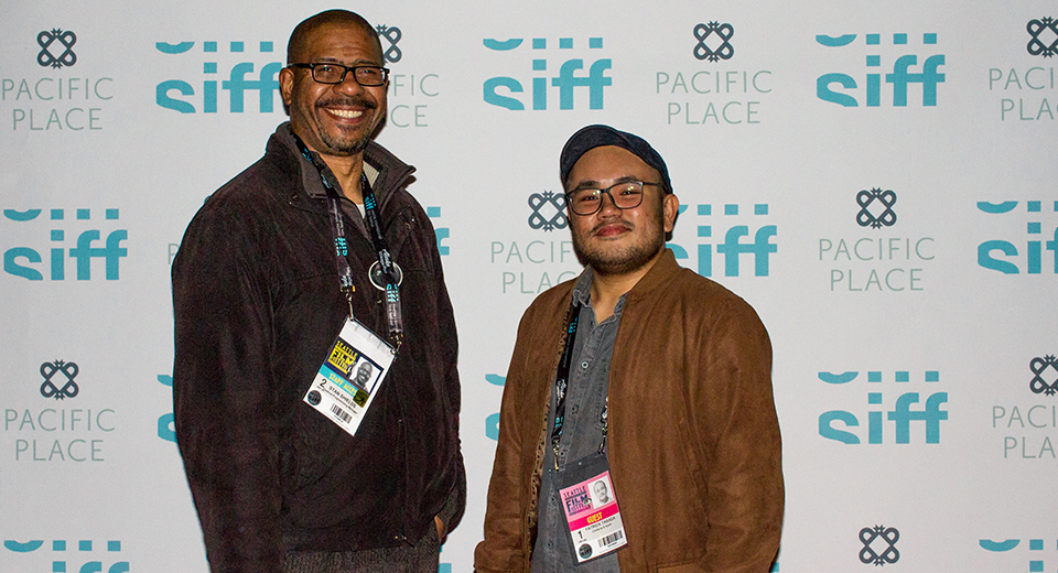 Chedeng & Apple Director with SIFF programmer