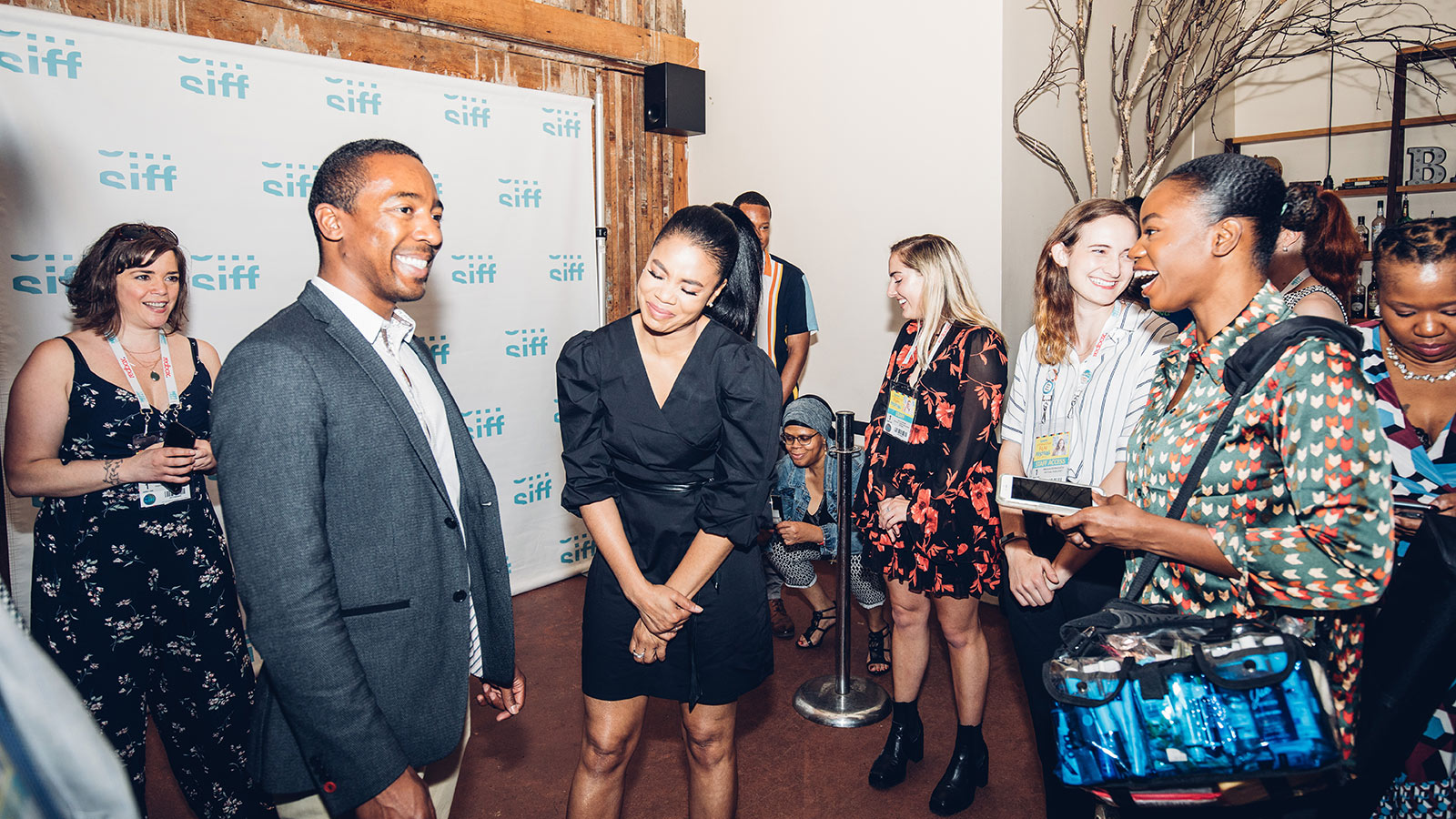 Regina Hall Reception Event