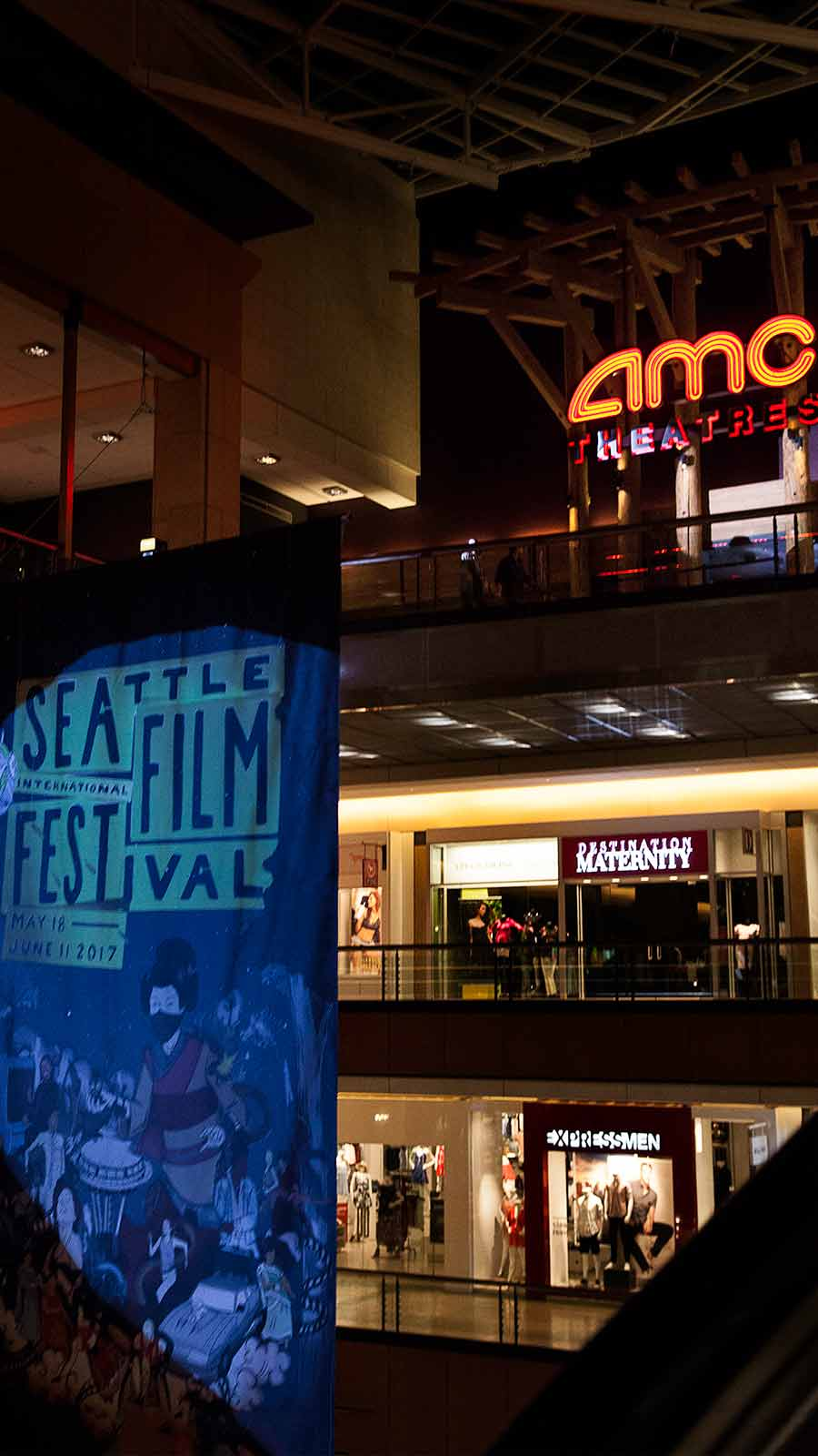 AMC Theater and SIFF Banner