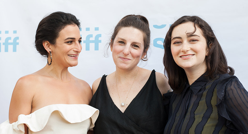 Gillian Robespierre, Jenny Slate, and Abby Quinn