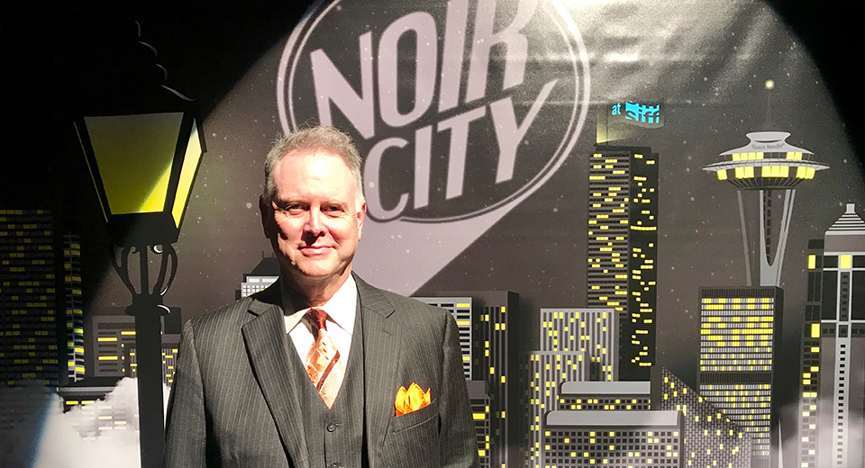 Eddie Muller at Noir City 2019